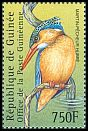 Cl: Malachite Kingfisher (Alcedo cristata) <<Martin-p&ecirc;cheur hupp&eacute;>>  new (2001)