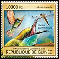 Cl: Green Bee-eater (Merops orientalis)(Out of range) (I do not have this stamp)  new (2016)