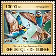 Cl: European Bee-eater (Merops apiaster)(I do not have this stamp)  new (2016)