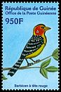 Cl: Red-and-yellow Barbet (Trachyphonus erythrocephalus) <<Barbican &agrave; t&ecirc;te rouge>> (Out of range)  new (2001)