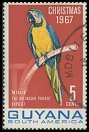 Cl: Blue-and-yellow Macaw (Ara ararauna)(Repeat for this country)  SG 443 (1967)
