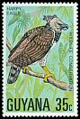 Cl: Harpy Eagle (Harpia harpyja)(Repeat for this country)  SG 687 (1978) 250