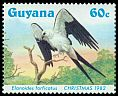 Cl: Swallow-tailed Kite (Elanoides forficatus)(Repeat for this country)  SG 1426 (1984) 270