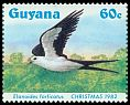 Cl: Swallow-tailed Kite (Elanoides forficatus)(Repeat for this country)  SG 1427 (1984) 270