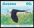 Cl: Swallow-tailed Kite (Elanoides forficatus)(Repeat for this country)  SG 1428 (1984) 270