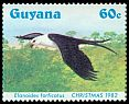 Cl: Swallow-tailed Kite (Elanoides forficatus)(Repeat for this country)  SG 1429 (1984) 270
