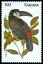 Cl: Channel-billed Toucan (Ramphastos vitellinus) SG 2676 (1990) 90