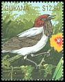 Cl: Bearded Bellbird (Procnias averano)(Out of range and no other stamp)  SG 2995 (1990)