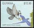 Cl: Harpy Eagle (Harpia harpyja)(Repeat for this country)  SG 3027 (1990)