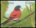 Cl: Red Siskin (Carduelis cucullata)(Endemic or near-endemic)  SG 3032 (1990)