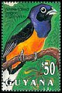 Cl: White-tailed Trogon (Trogon viridis) SG 3490 (1993)
