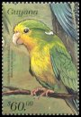 Cl: Mountain Parakeet (Psilopsiagon aurifrons)(Out of range and no other stamp)  SG 5656 (1999)