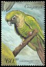 Cl: Maroon-bellied Parakeet (Pyrrhura frontalis)(Out of range and no other stamp)  SG 5657 (1999)