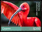 Cl: Scarlet Ibis (Eudocimus ruber)(Repeat for this country) (I do not have this stamp)  new (2018)