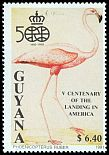 Cl: Caribbean Flamingo (Phoenicopterus ruber)(Repeat for this country) (not catalogued)  (1991)