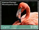 Cl: Caribbean Flamingo (Phoenicopterus ruber)(Repeat for this country) (I do not have this stamp)  new (2018)