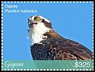 Cl: Osprey (Pandion haliaetus)(I do not have this stamp)  new (2018)