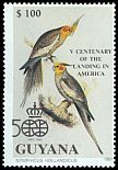 Cl: Cockatiel (Nymphicus hollandicus)(Out of range and no other stamp) (not catalogued)  (1991)