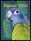 Cl: Blue-headed Parrot (Pionus menstruus)(I do not have this stamp)  new (2015)