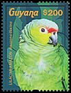 Cl: Red-lored Parrot (Amazona autumnalis lilacina)(Out of range) (I do not have this stamp)  new (2015)