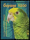 Cl: Yellow-crowned Parrot (Amazona ochrocephala)(Repeat for this country) (I do not have this stamp)  new (2015)