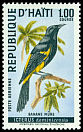 Cl: Greater Antillean Oriole (Icterus dominicensis) <<Banane m&ucirc;re>>  SG 1133 (1969) 250