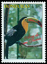 Cl: Keel-billed Toucan (Ramphastos sulfuratus)(Repeat for this country)  SG 1366 (1997)
