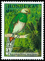 Cl: Resplendent Quetzal (Pharomachrus mocinno)(Repeat for this country)  SG 1533 (1999)