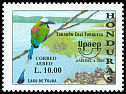 Cl: Blue-crowned Motmot (Momotus momota)(Repeat for this country)  SG 1671 (2001)