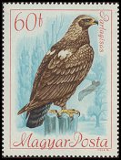 Cl: Imperial Eagle (Aquila heliaca) <<Parlagisas>> (Repeat for this country)  SG 2348 (1968) 15
