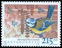 Cl: Eurasian Blue Tit (Cyanistes caeruleus) <<K&eacute;k cinege>> (Repeat for this country)  SG 5255 (2010)