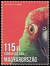 Cl: Red-fronted Macaw (Ara rubrogenys)(Out of range) (I do not have this stamp)  new (2016)