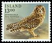 Cl: Short-eared Owl (Asio flammeus) <<Brandugla>>  SG 697 (1987) 65
