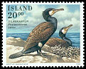 Cl: Great Cormorant (Phalacrocorax carbo) <<Dilaskarfur>>  SG 855 (1996) 55