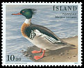 Cl: Red-breasted Merganser (Mergus serrator) <<Toppond>>  SG 875 (1997) 40
