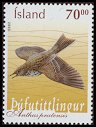 Cl: Meadow Pipit (Anthus pratensis) <<Pufutittlingur>>  SG 1055 (2003) 160 [1/9]