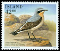 Cl: Northern Wheatear (Oenanthe oenanthe) <<Steindepill>>  SG 1009 (2001) 90