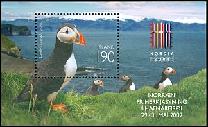 Cl: Atlantic Puffin (Fratercula arctica) <<Lundi>>  SG 1252 (2009) 475 [6/3]
