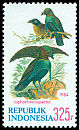 Cl: Superb Bird-of-paradise (Lophorina superba) SG 1768 (1984) 375
