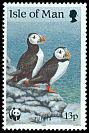 Cl: Atlantic Puffin (Fratercula arctica)(Repeat for this country)  SG 420 (1989) 80