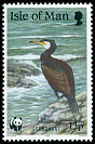 Cl: Great Cormorant (Phalacrocorax carbo)(Repeat for this country)  SG 422 (1989) 80