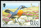 Cl: White-throated Robin (Irania gutturalis) SG 583 (1994) 0