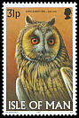 Cl: Northern Long-eared Owl (Asio otus)(Repeat for this country)  SG 736 (1997)