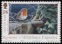 Cl: European Robin (Erithacus rubecula)(Repeat for this country)  SG 1186 (2004)
