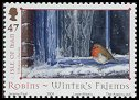 Cl: European Robin (Erithacus rubecula)(Repeat for this country)  SG 1188 (2004)