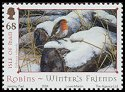 Cl: European Robin (Erithacus rubecula)(Repeat for this country)  SG 1189 (2004)