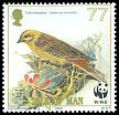 Cl: Yellowhammer (Emberiza citrinella) SG 885 (2000)