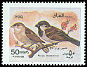 Cl: House Sparrow (Passer domesticus) SG 2085 (2000)