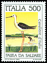 Cl: Black-winged Stilt (Himantopus himantopus) <<Cavaliere d'Italia>>  SG 1884 (1984) 200