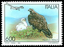 Cl: Golden Eagle (Aquila chrysaetos) <<Aquila reale>>  SG 2293 (1995) 50